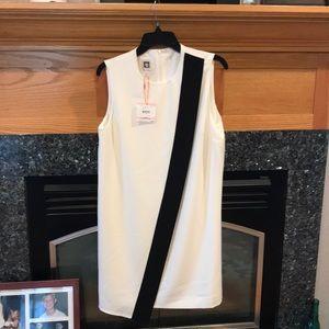 NWT Ann Klein A line asymmetrical dress